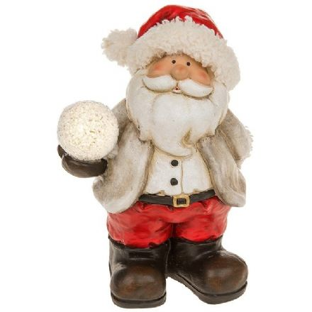Snowball Small LED Santa